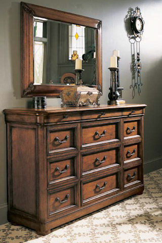 Image of Twelve Drawer Triple Dresser