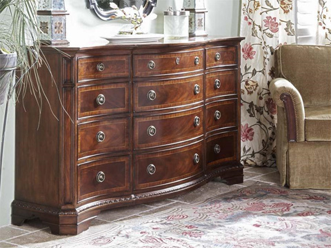 Image of Triple Dresser with Twelve Drawers