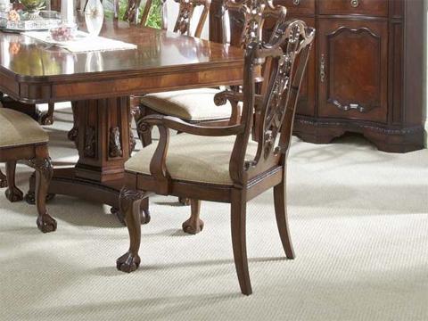 Fine Furniture Design - Ball & Claw Arm Chair - 920-825