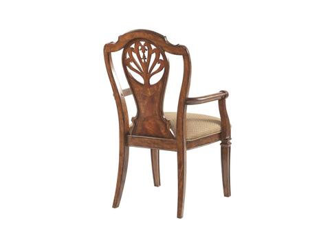 Fine Furniture Design - Splat Back Arm Chair - 920-821