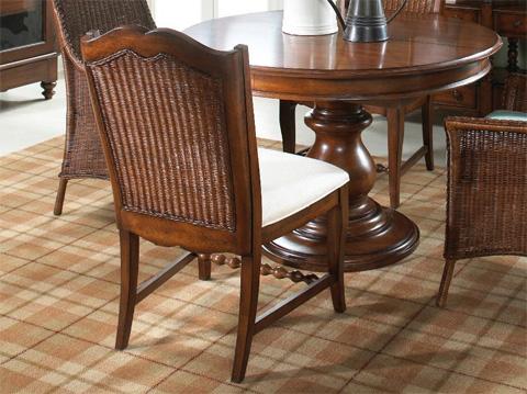 Fine Furniture Design - Wicker Back Side Chair - 1050-824
