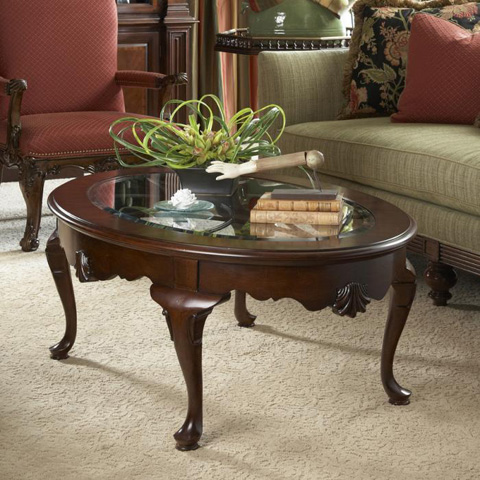 Fine Furniture Design - Oval Cocktail Table - 1020-930