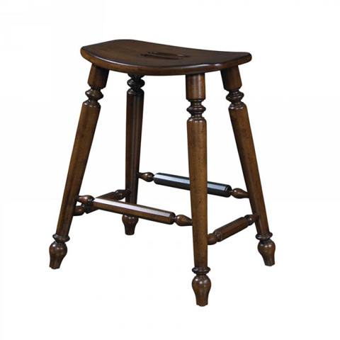 Fine Furniture Design - Saddle Counter Stool - 1050-928-S