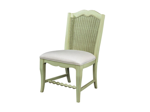 Fine Furniture Design - Wicker Back Side Chair - 1052-824