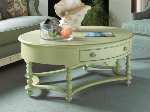 Fine Furniture Design - Oval Cocktail Table - 1052-932