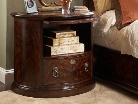 Fine Furniture Design & Marketing - Demilune Bachelor's Chest - 1110-104