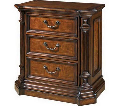 Fine Furniture Design - Three Drawer Nightstand - 810-100