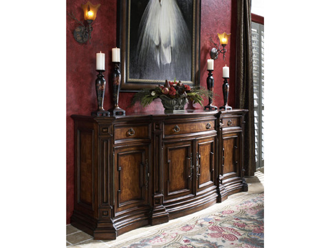 Image of Curved Credenza
