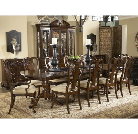 Fine Furniture Design - Fredericksburg Dining Table - 1020-818/819