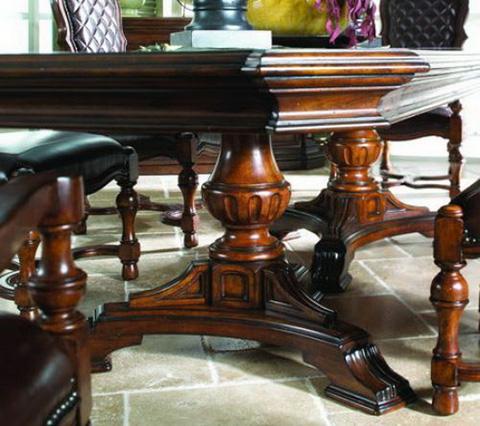 Fine Furniture Design - Double Pedestal Dining Table - 810-818/819