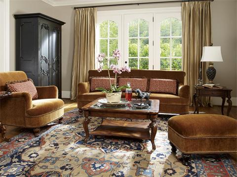 Fine Furniture Design - English Sofa - 3904-01-1345-V15BF