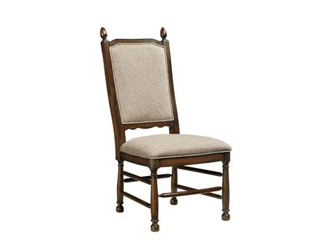 Fine Furniture Design - Upholstered Ladderback Side Chair - 1370-820