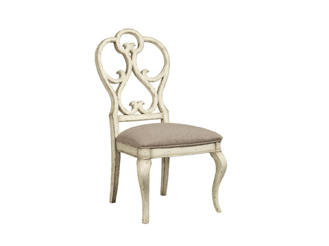 Image of Scroll Dining Side Chair