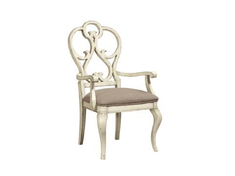 Fine Furniture Design - Scroll Dining Arm Chair - 1371-825