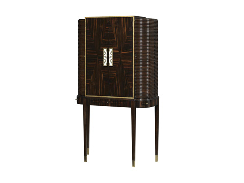 Fine Furniture Design - Silver Screen Bar Cabinet - 1428-995