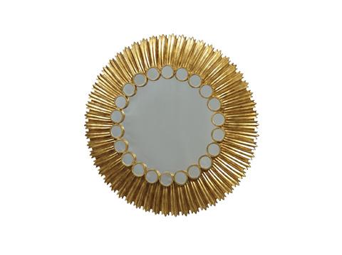 Fine Furniture Design - Key Largo Round Mirror - 1429-955