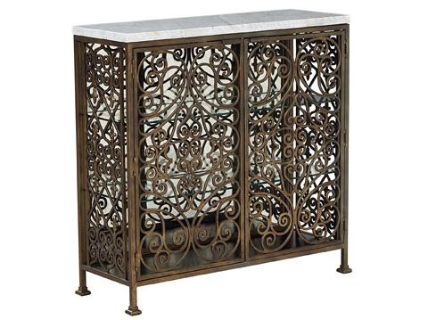 Fine Furniture Design & Marketing - Volute Metal Console - 1459-944