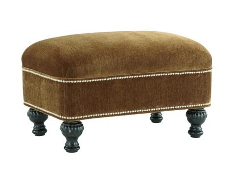 Fine Furniture Design - English Ottoman - 3904-04
