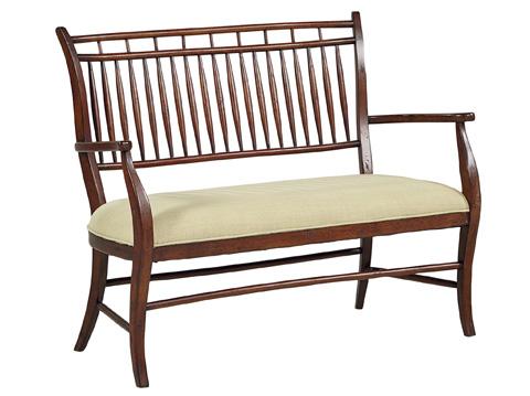 Fine Furniture Design - Southseas Settee - 4513-02