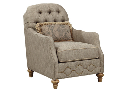 Fine Furniture Design & Marketing - Vestibule Tufted Occasional Chair - 4514-03