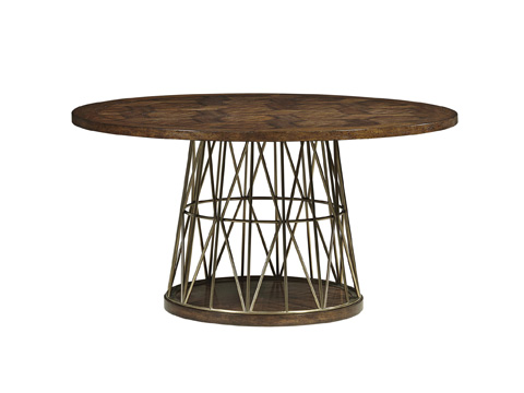 Fine Furniture Design - Andover Dining Table with Wood Top - 1420-810/811