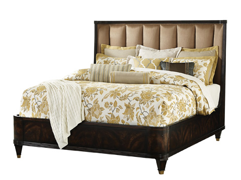 Fine Furniture Design - Stephen's Upholstered King Bed - 1426-467/468/469
