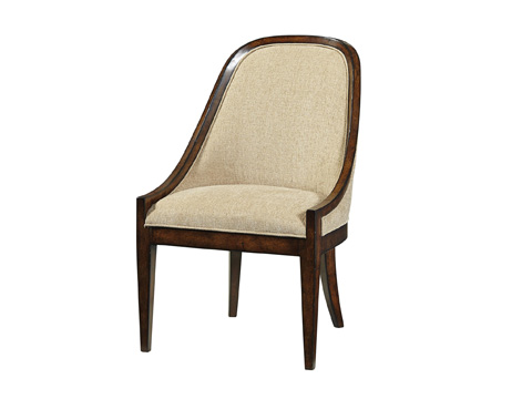 Image of Elegant Upholstered Dining Chair