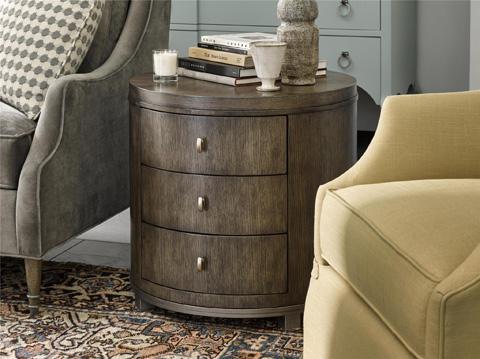 Fine Furniture Design - Byron Drum Table - 1584-972