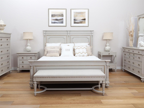 Fine Furniture Design - Brookston King Bed - 1511-467/468/469