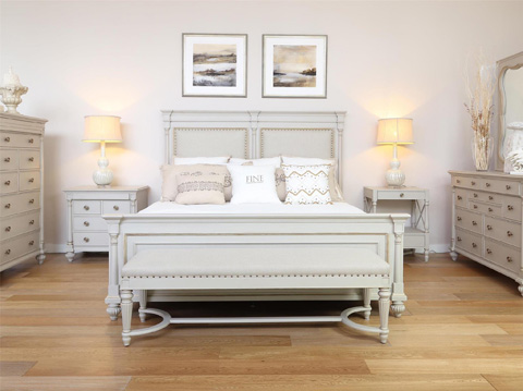 Image of Brookston King Upholstered Bed