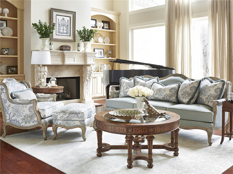 Image of Biltmore Three Piece Living Room Collection
