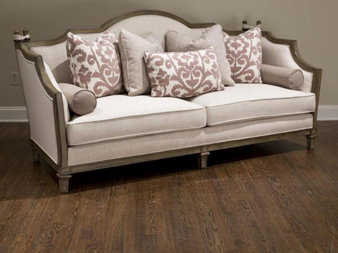 Fine Furniture Design Upholstery - Faux Ratchet Sofa - 6004-01