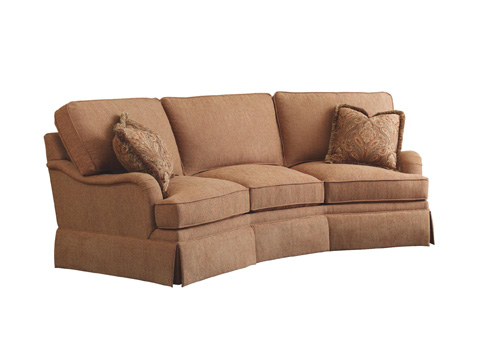 Image of Wedge Sofa with Skirt