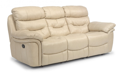 Flexsteel - Westport Double Reclining Leather Sofa - 1285-62