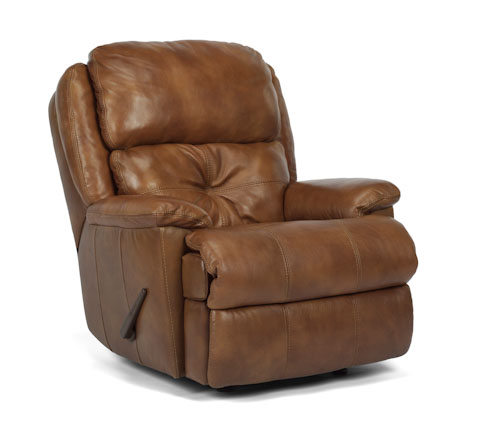 Image of Cruise Control Rocking Leather Recliner