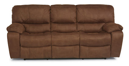 Image of Grandview Double Reclining Fabric Sofa