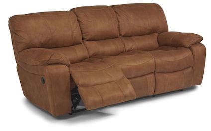 Flexsteel - Power Reclining Fabric Sofa - 1541-62P