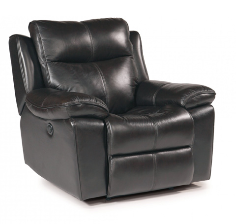 Image of Julio Tan Leather Power Recliner