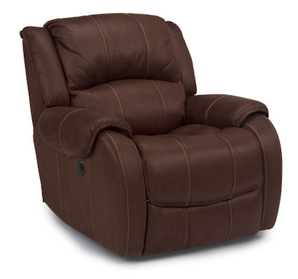 Image of Pure Comfort Brown Power Recliner