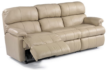 Image of Chicago Leather Double Reclining Sofa