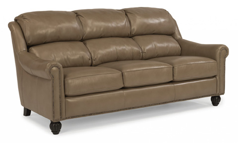 Flexsteel - Wayne Leather Sofa - 1139-31