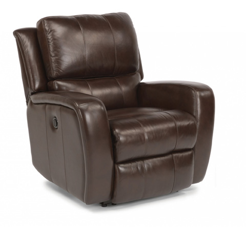 Flexsteel - Hammond Leather Power Glider Recliner - 1157-54P