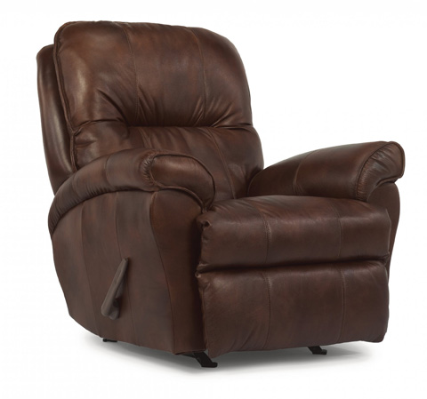 Image of Wilson Leather Rocking Recliner
