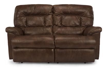 Flexsteel - Great Escape Leather Double Reclining Loveseat - 1221-60