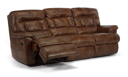 Flexsteel - Great Escape Leather Double Reclining Sofa - 1221-62