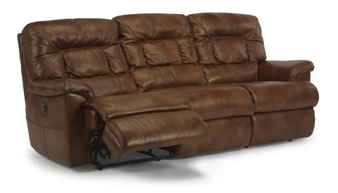 Flexsteel - Great Escape Leather Power Reclining Sofa - 1221-62P