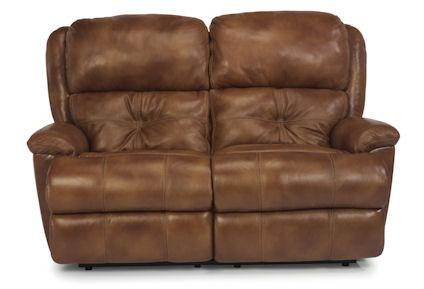 Flexsteel - Cruise Control Leather Double Reclining Loveseat - 1226-60