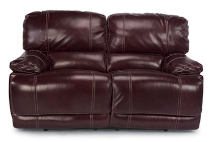 Flexsteel - Belmont Leather Double Reclining Loveseat - 1250-60
