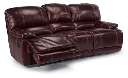 Flexsteel - Belmont Leather Double Reclining Sofa - 1250-62