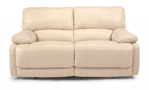Image of Hermosa Leather Power Reclining Loveseat